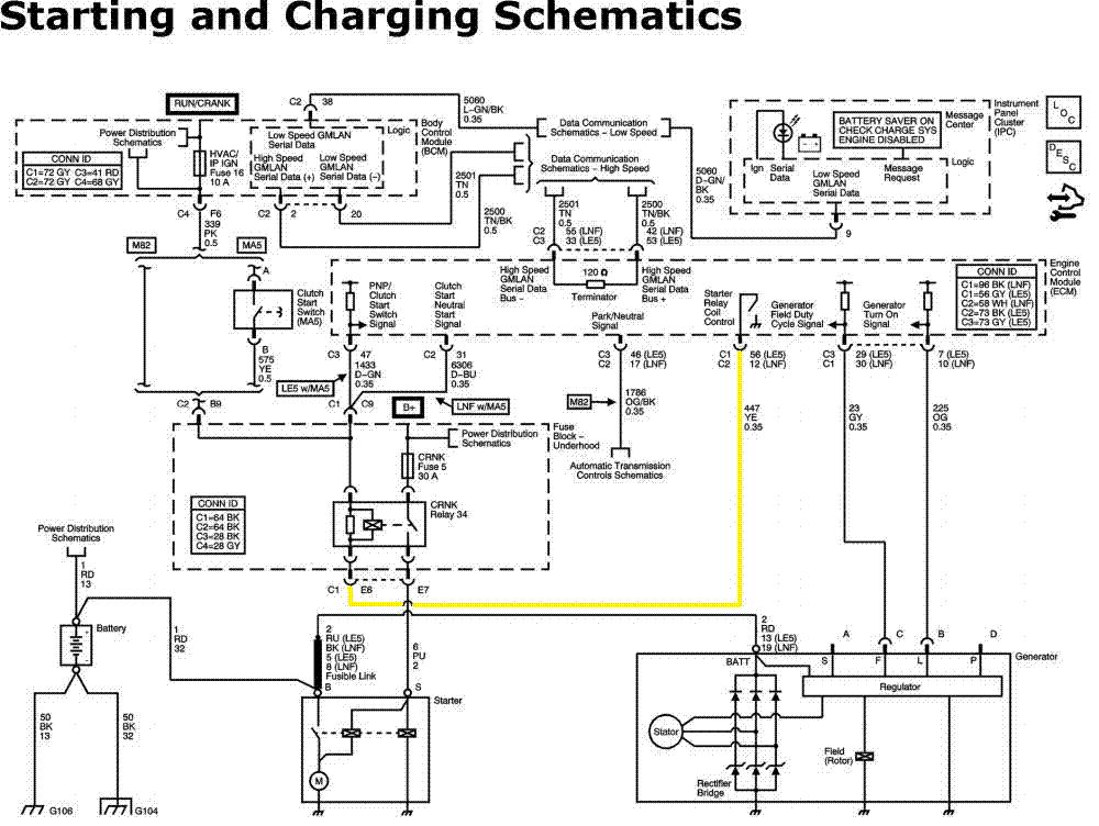 2007 Chevy Malibu Starting Wiring Diagram | Online Wiring Diagram
