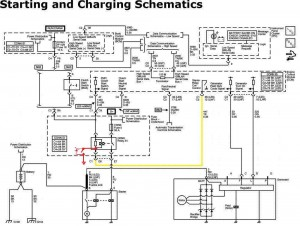 Wiring diagram Start push 2 start mod